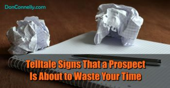Telltale Signs That a Prospect Is About to Waste Your Time