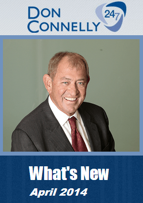 What's New Don Connelly 247 April 2014