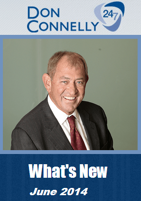 What's New Don Connelly 247 June 2014