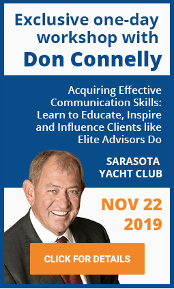 A full-day workshop with Don Connelly on Nov 22, 2019
