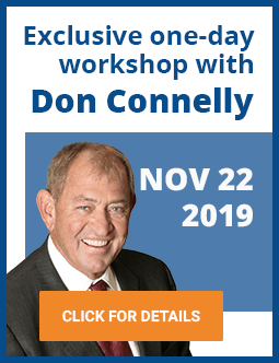 A one-day workshop with Don Connelly on November 22, 2019