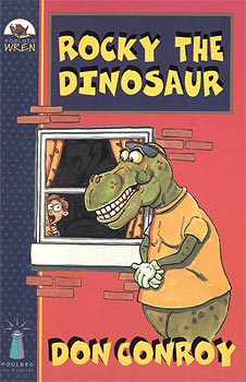 Rocky the Dinosaur book cover