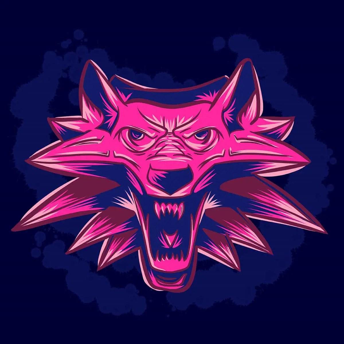 witcher 3 wild hunt, illustration, fan art, retro gaming, game