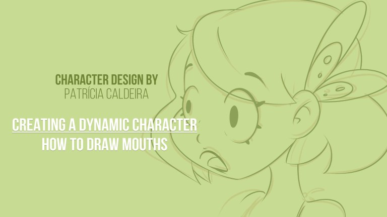 Draw Mouths and Chins on Skillshare, Create a Dynamic Character!