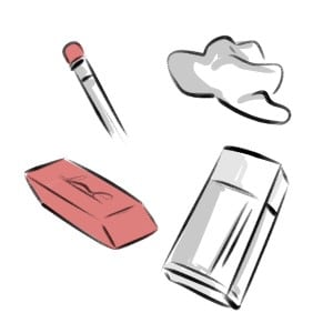 There are many types of Erasers, here are the ones I recommend for Artists! - by Don Corgi