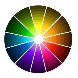 Different hues and values in our Color Wheel.