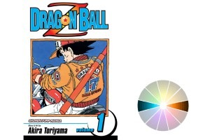 Great use of Complementary Colors by Akira Toryama from the manga Dragon Ball Z