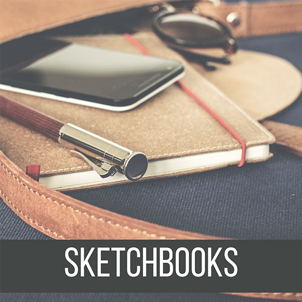 Recommended Sketchbooks for Drawing, Inking and many Mixed Media! by Don Corgi