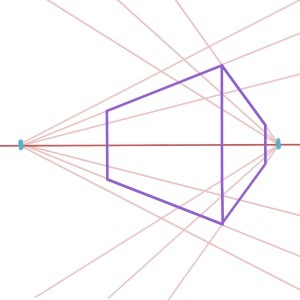 Two Point Perspective Drawing is one of the most common Drawing Techniques seen in paintings, here's how to do it.
