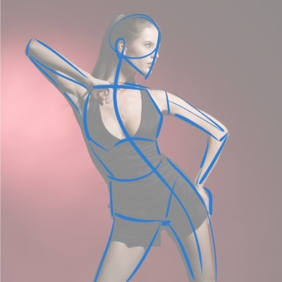 Focus on what you're seeing, not what you think it is. This is a crucial part in Gesture Drawing