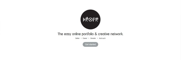 Dropr is a free portfolio website where you can drag and drop your content and layout!