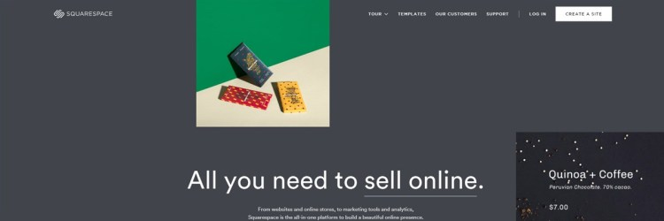 Squarespace is a great platform if you don't want to worry about the tech part of building a portfolio website.