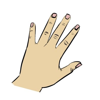 Add some wrinkles to your hand drawings to make them look older.