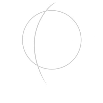 Drawing a Face or Head in a three quarters view can be somewhat complicated, so let me guide you step by step!