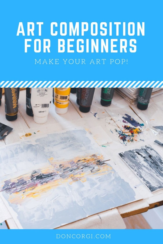 Art Composition for Beginner Artists, composition doesn't need to be boring. Let me take you step by step into learning Art Composition!