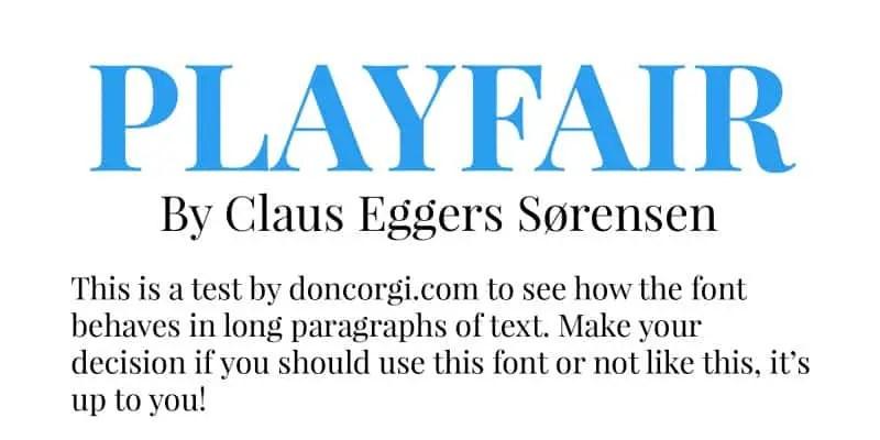 Playfair