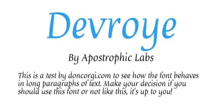Devroye