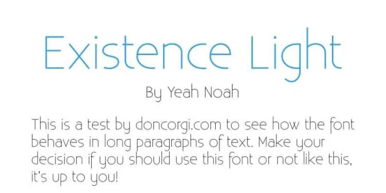 Existence Light