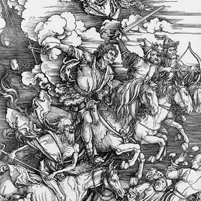 Four Hoursemen Of The Apocalypse by Albrecht Durer