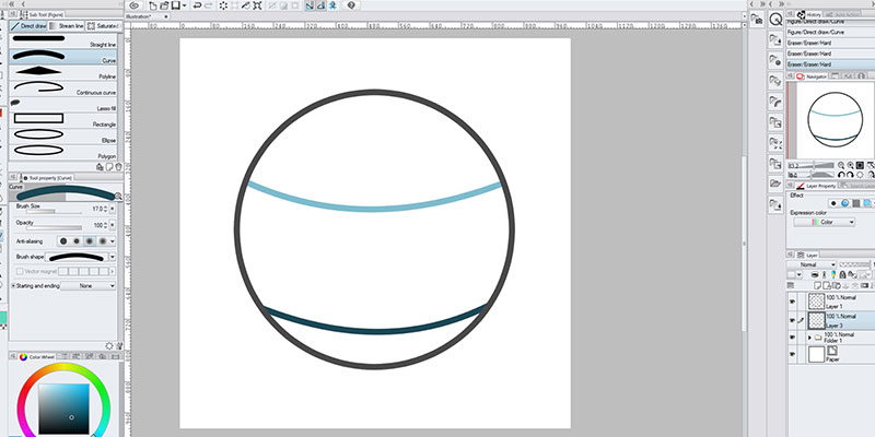 There are several ways to use contour line paint in clip studio paint!