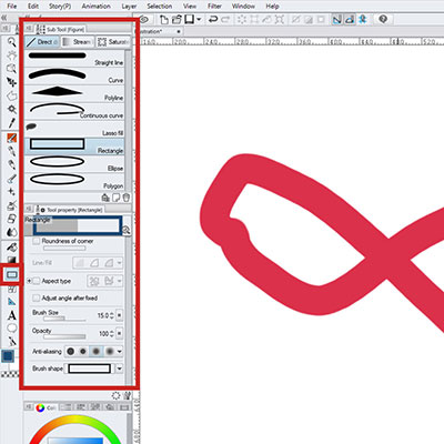 Use the Figure Tool to help you making vector drawings!