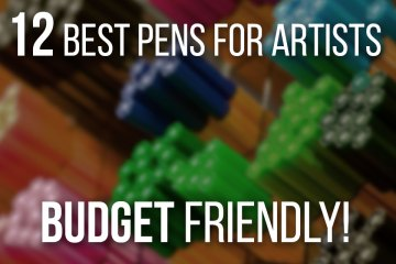 12 Best Drawing Pens For Artists On A Budget - Cheap but Professional drawing pens!