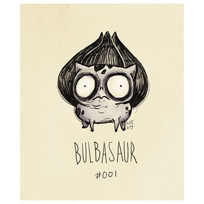 Some artists have been inspired by Tim Burton, like Vaughn Pinpin with their pokemon drawings