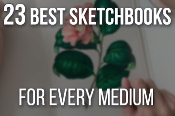 23 Best Sketchbooks For Artists On Every Medium with budget alternatives!