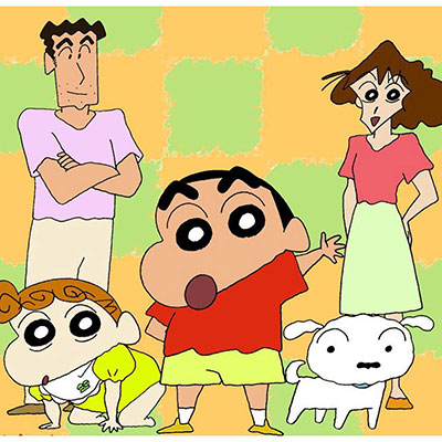 Crayon Shin-Chan is a very good example that you don't have to be perfect with your lines in your art style.