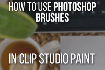 How To Use Photoshop Brushes In Clip Studio Paint Step by step with abrMate!