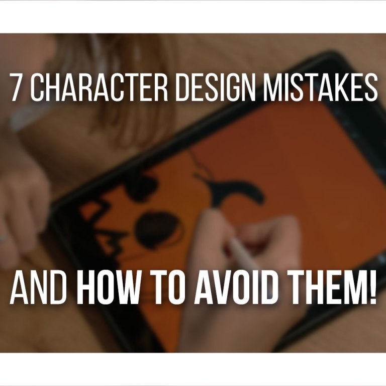 Character Design Mistakes - Cover