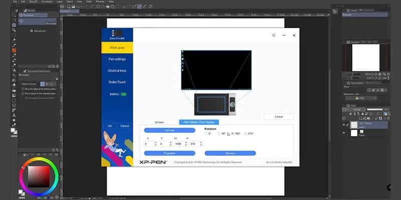 the xp pen deco pro mw tablet software