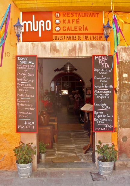 San Miguel de Allende's top rated restaurant.