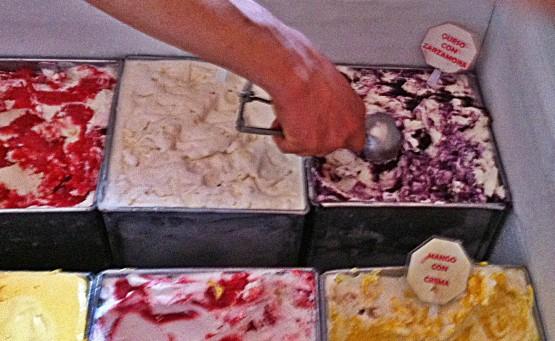 The very best ice cream in San Miguel de Allende.