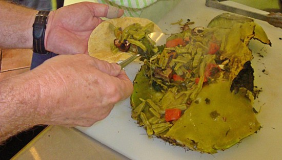 Tackling the prickly subject of nopales.