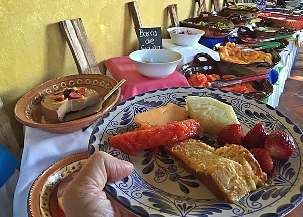 hacienda fruit table