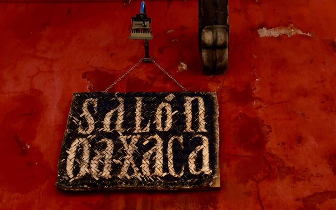 Oaxacan tlayudas in San Miguel. The secret is out.