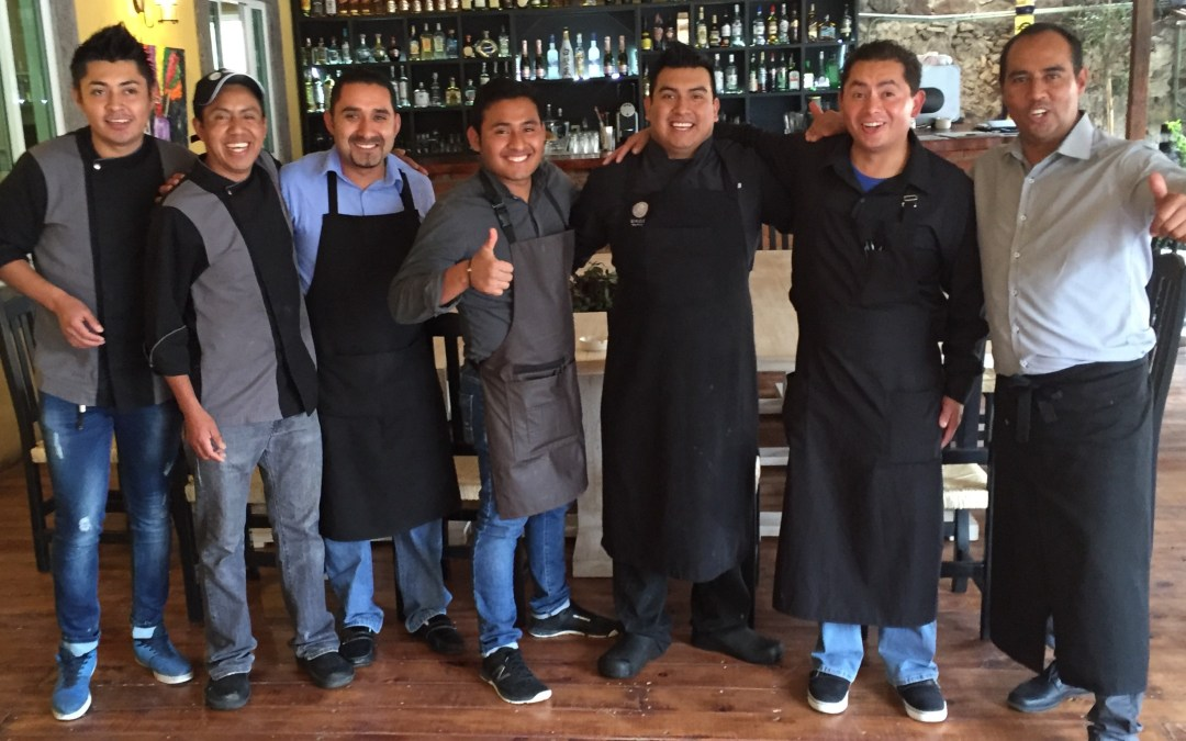 Mi Bistro 300. Teamwork takes tostadas and tacos to new heights.