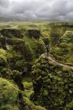 Fjaðrárgljúfur Canyon, Islandia EUROPA