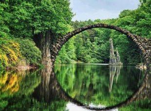 Rododendron Park en Kromlau -Alemania -EUROPA