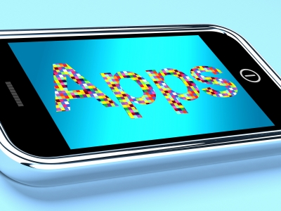 """""""Mobile Phone Apps On Smartphone"""" by Stuart Miles"""