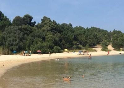 Playa O Espiño. O Grove. Pontevedra