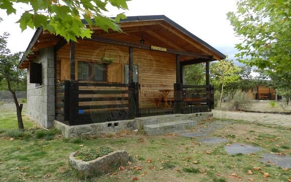 cabañs de vallecino porche
