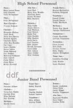 1961 Fowler High School