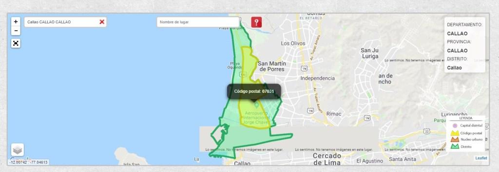 Cual Es El Nuevo C 243 Digo Postal De Per 250 Lima Callao