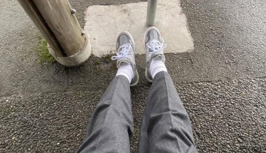 新しいスニーカー履いてルンルン気分でお出かけしてるんだがwwwwwwwwwwww
