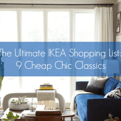 Apartment Therapy's Ikea Shopping List
