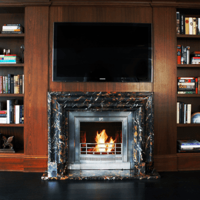 Cold Weather Cozy: The Ventless Fireplace