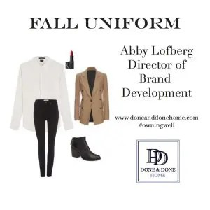 Abby Fall Uniform