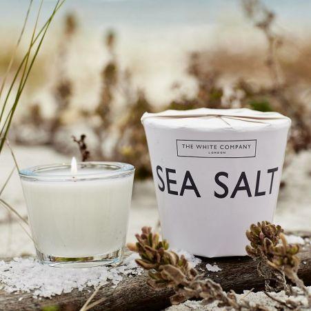 The White Company Sea Salt candle